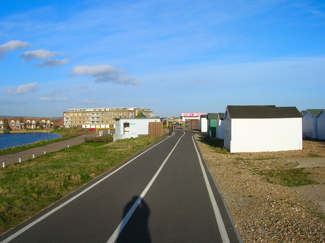 Cycle Path, Lancing Beach