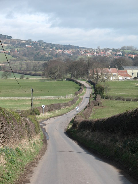 The road to Osmotherley