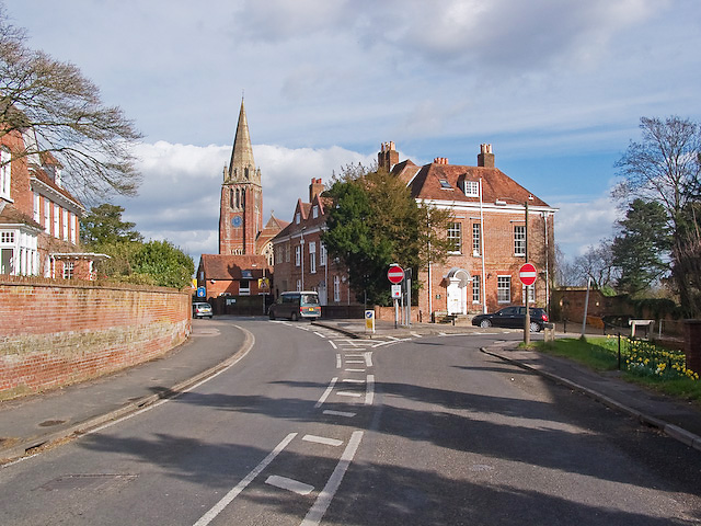 Church of St Michael and All Angels and The Queen's House, Lyndhurst
