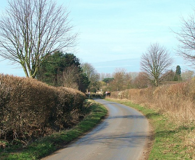 The lane into Waterstock