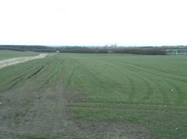 View from Hatherley Lane East toward Blyth