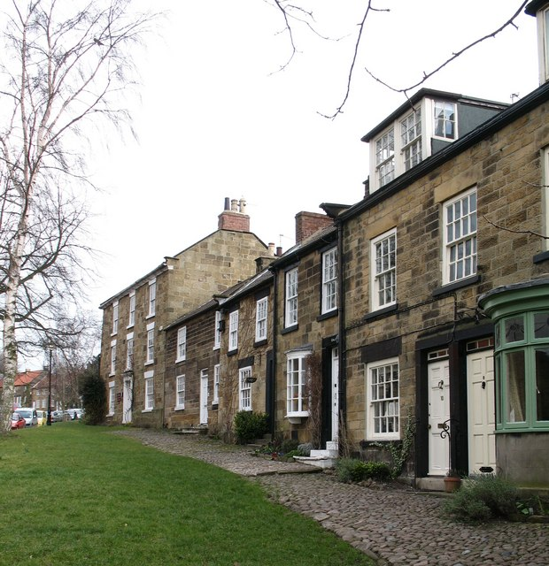 Terraced houses in Osmotherley