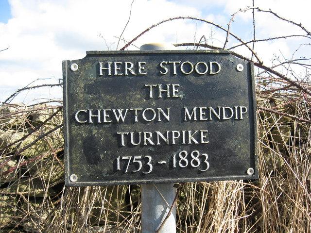Chewton Mendip Turnpike