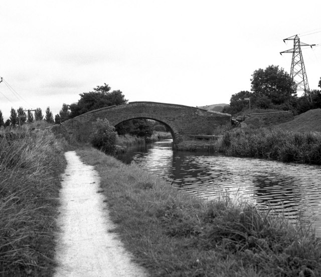 Swinden Changeline Bridge, Leeds and Liverpool Canal