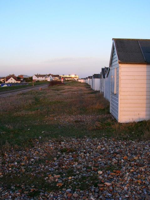 Beach Huts, Shoreham Beach