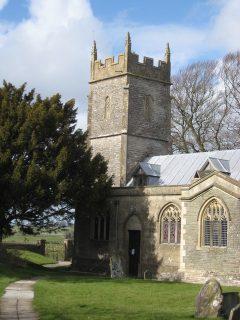The Tower of St Mary's Church, Ston Easton