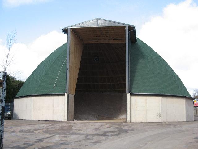 Highways Agency salt store Clutton
