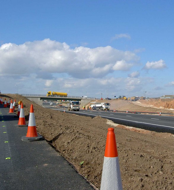 Almost there on the A1 at Blyth Notts