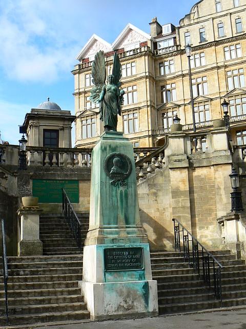 Edward VII memorial, Parade Gardens, Bath