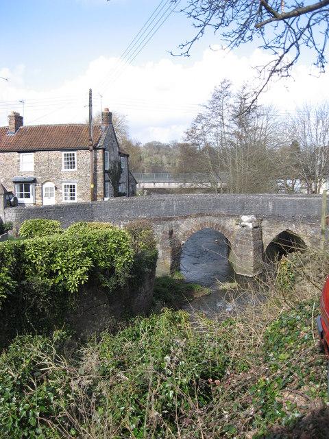 Pensford Bridge over the River Chew