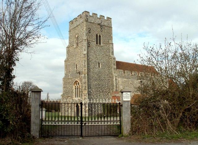 St. Andrew's; the parish church of Althorne