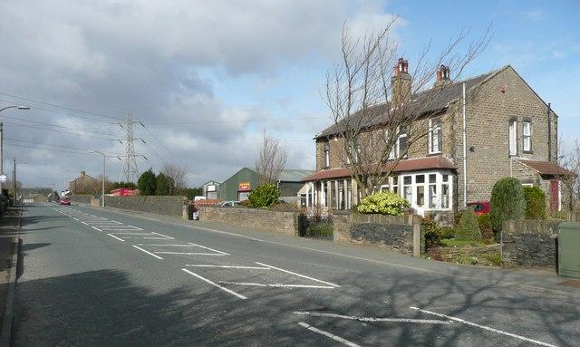 North side of Dewsbury Road, Rastrick