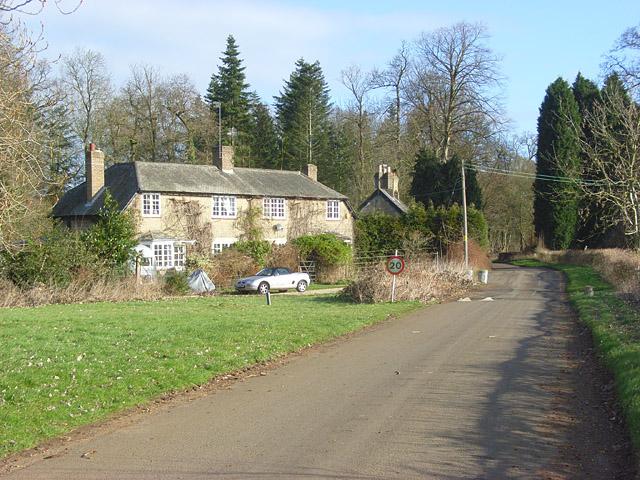 Cottages and road, Nuneham Park