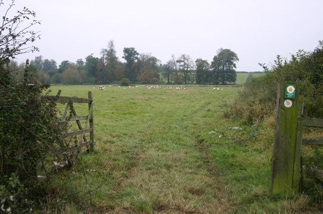 The Bernwood Way heads up to the B4011