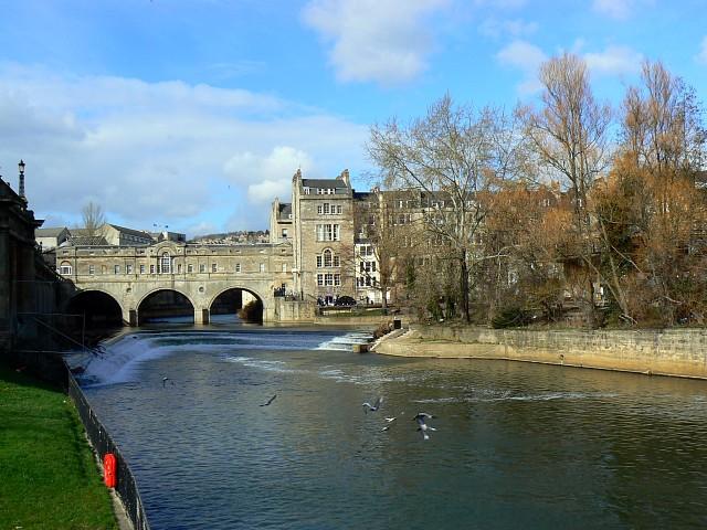 River Avon at the Parade Gardens, Bath
