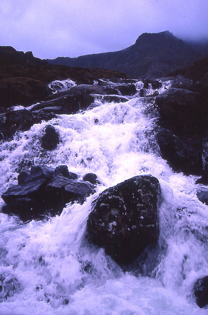Waterfall above Ogwen