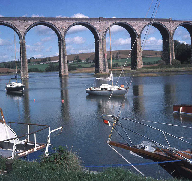 St Germans Quay and Viaduct