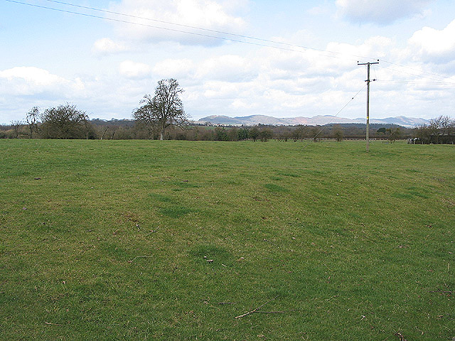 Farmland with view of the Malverns