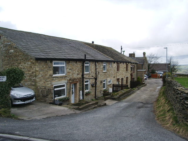 School House Lane, Green Haworth