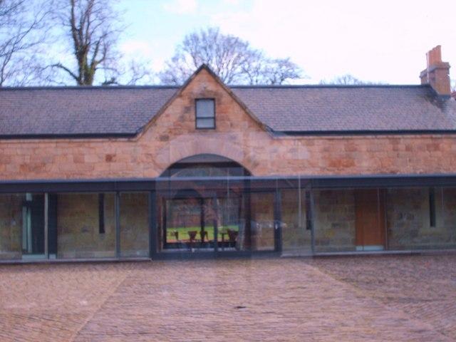 Courtyard of Castlemilk Stables