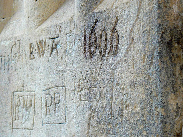 Graffiti, Bath Abbey