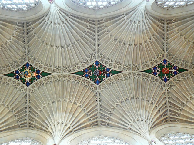 Bath Abbey, ceiling