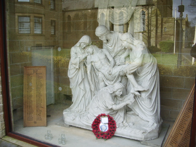 St Mary's Church, Oswaldtwistle, War Memorial