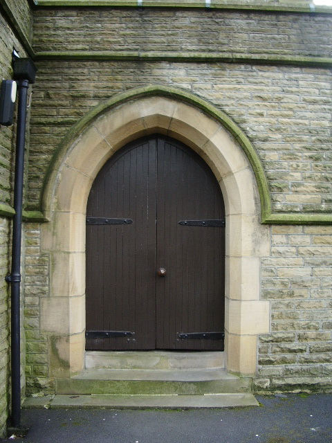 St Mary's Church, Oswaldtwistle, Doorway