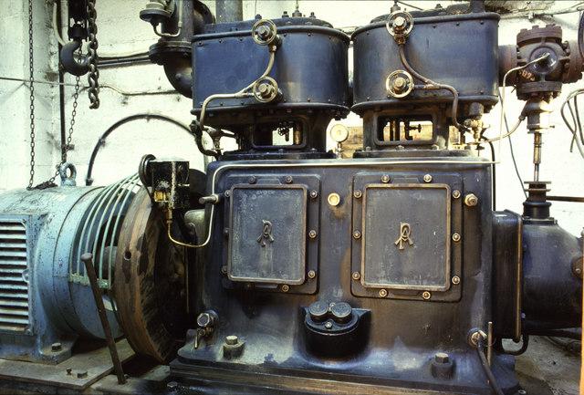 Steam engine, Staveley Woodturning Ltd.