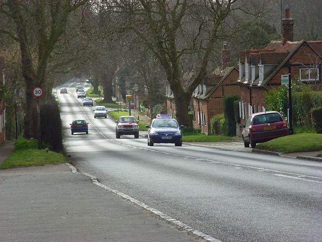 The A4074, Nuneham Courtenay