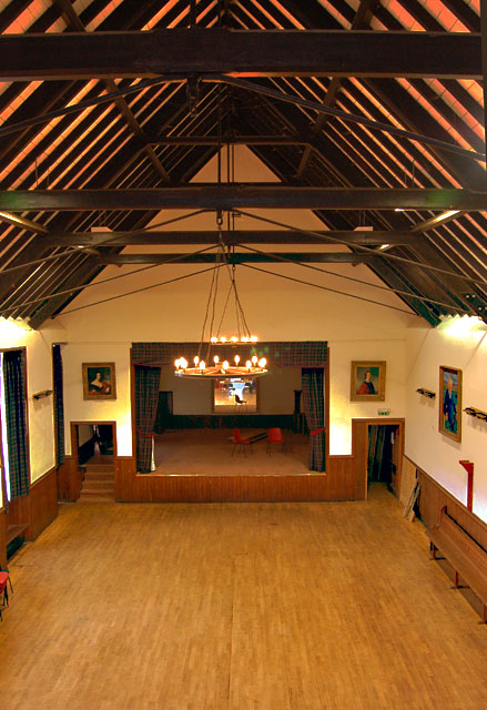Interior of The Skye Gathering Hall