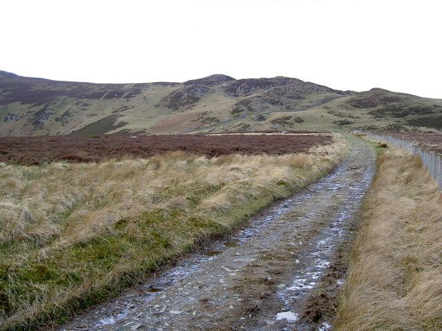 The track towards Clogwynyreryr