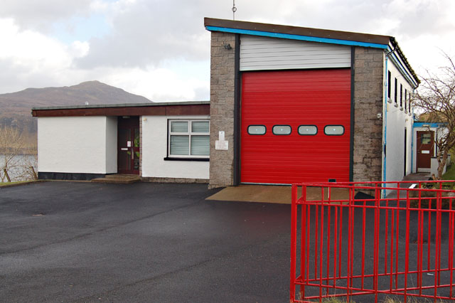Portree Fire Station