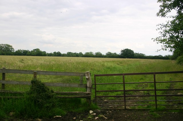 Bridleway South East of Launton