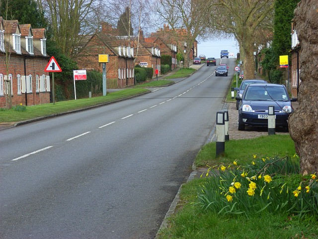 The A4074, Nuneham Courtenay