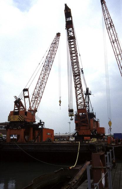 """Crane barge """"Seawork Solidarity"""""""
