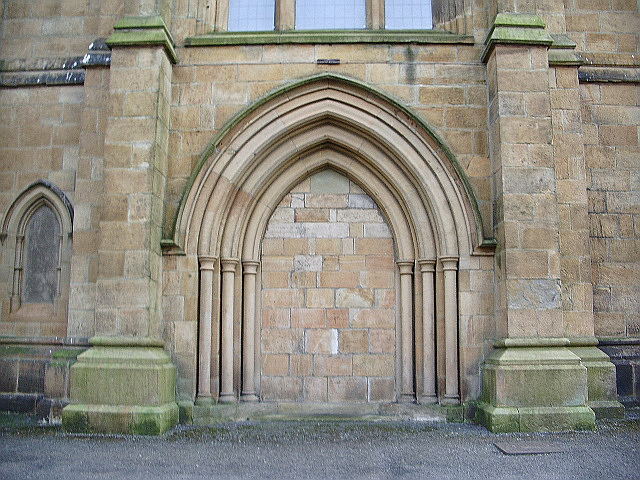 Christ Church, Accrington, Doorway