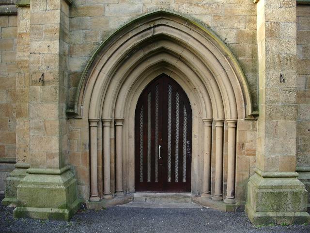 Christ Church, Accrington, Doorway
