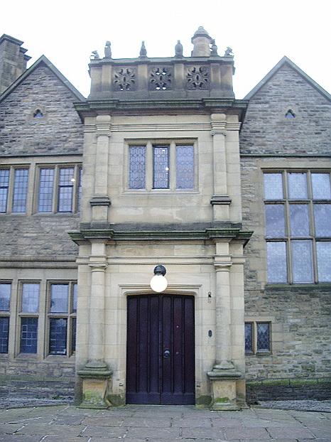 Haworth Art Gallery, Accrington, Entrance
