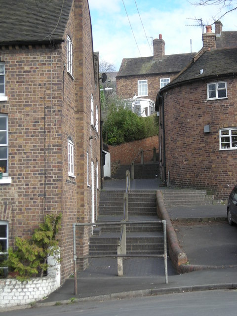 Bernard's Hill steps