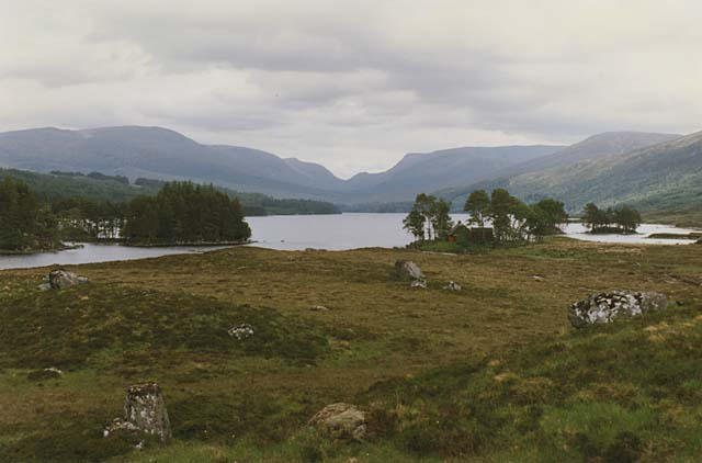 View to the west end of Loch Ossian