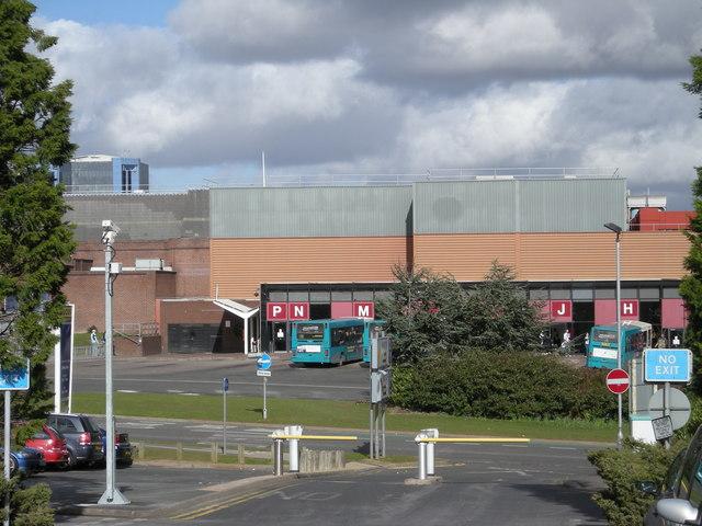 Telford Bus Station.