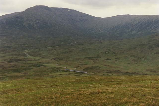 Slopes at the west end of Beinn na Lap