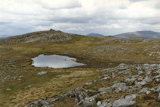 The summit of Beinn na Lap