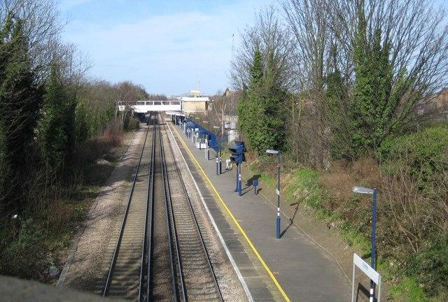 Erith railway station