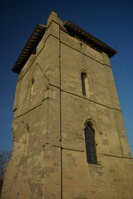 The tower at Temple Bruer