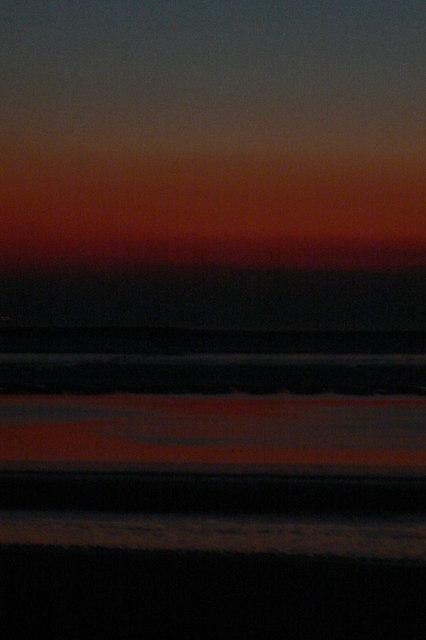 Sunset at Burnham