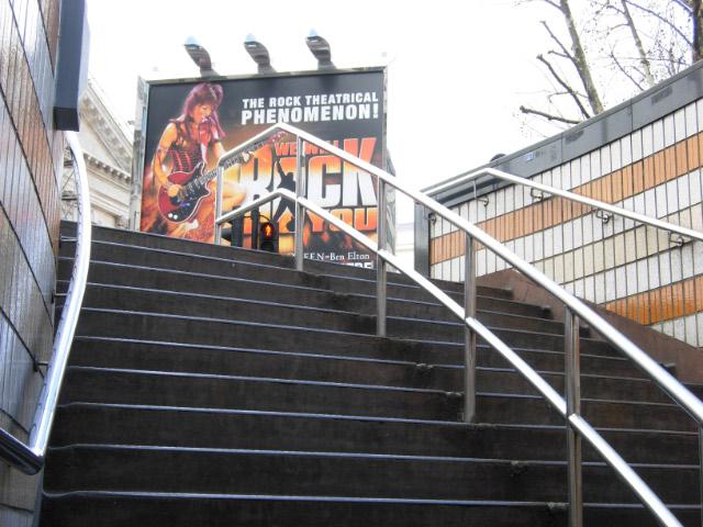Steps at Charing Cross