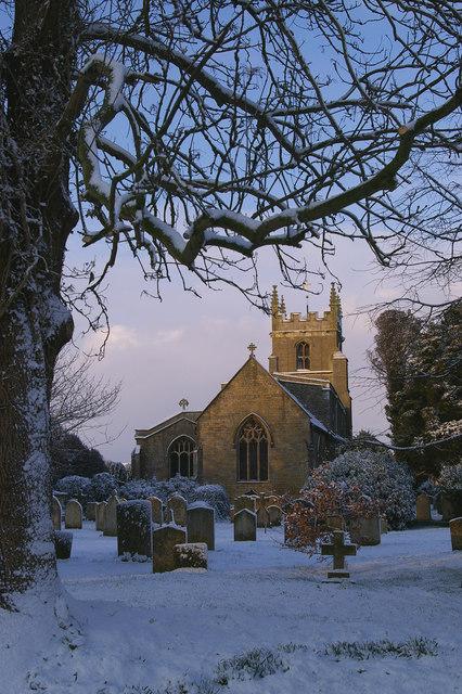 Baston parish church