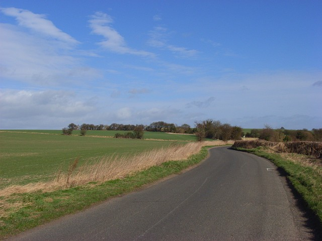 The Chalgrove to Tetsworth road